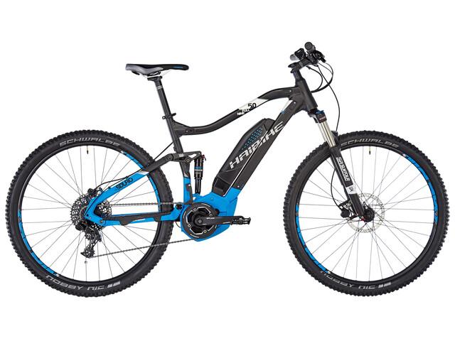 HAIBIKE SDURO FullNine 5.0 Elcykel MTB Heldämpad blå/svart